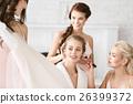 婚礼 准备好了的 帮助 26399372