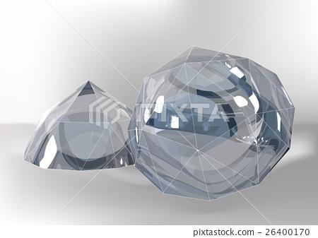 Cut of gemstones. rose cut 26400170