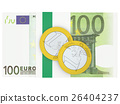Euro currency 26404237