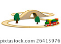 Wooden toy train 26415976