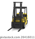 Yellow forklift 26416011