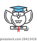 Education flat design single isolated icon 26423426