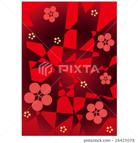 中國新年向量背景素材 26425078
