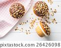 muffin, nut, hazelnut 26426098