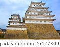 Main tower of the Himeji Castle in Japan 26427309
