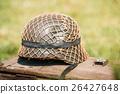 Close Metal Helmet Of Infantry Soldier Of 26427648