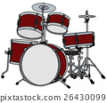 Classic red percussion 26430099
