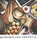 Bakery Baking Cook Eggs Pastry Ingredients Concept 26430315