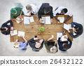 Doctor Brainstorming Diagnosis Medication Treatment Plan Concept 26432122