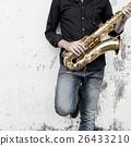 Saxophone Symphony Musician Jazz Instrument Concept 26433210