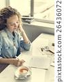 Written Women Female Girl Message Statement Concept 26436072