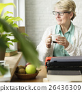 glasses, mug, notebook 26436309