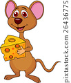 animal cartoon mouse 26436775