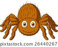 Cute tarantula cartoon 26440267
