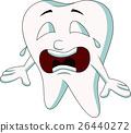 Tooth cartoon crying 26440272