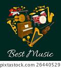 ดนตรี,หัวใจ,เครื่องมือ 26440529