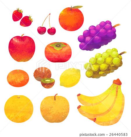 水果 蘋果 梨 26440583