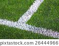 Soccer field close up 26444966