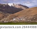 Karzok village in Rupshu valley in Ladakh, India. 26444988