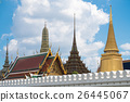 Grand palace and Emerald temple in Bangkok 26445067