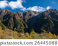 The fall season of kamikochi in Hotaka range 26445088