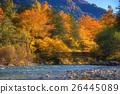 The fall season of kamikochi in Hotaka range 26445089