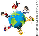 People dancing around the world 26447677