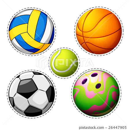 Different types of balls 26447905