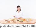 营养师 烹饪 食物 26449384