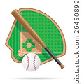 baseball field vector illustration 26450899