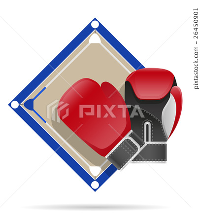 boxing ring vector illustration 26450901