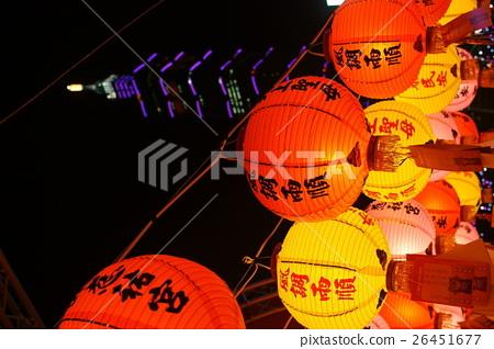 農曆新年的祈福燈 26451677