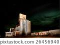 Night Photo Grain Elevator 26456940
