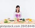 蔬菜 主婦 家庭主婦 26458446