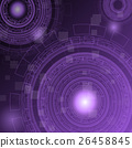 Abstract purple technology futuristic background 26458845