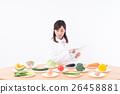蔬菜 便箋簿 平板 26458881