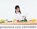 蔬菜 便箋簿 平板 26458885