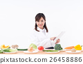 蔬菜 便箋簿 平板 26458886