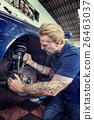 Auto Repair Shop Mechanic Technician Concept 26463037