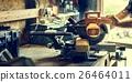 Carpenter Craftman Lumber Timber Woodwork Concept 26464011