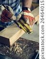 Carpenter Craftman Lumber Timber Woodwork Concept 26464015