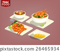 eautiful graphic design of Thai food 26465934