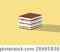 beautiful design of tiramisu cake 26465936