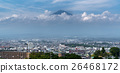 Mt.Fuji over Fujinomiya, Shizuoka, Japan 26468172