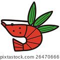 矢量 图标 大螯虾 26470666