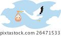 황새, 아기, 갓난 아기 26471533