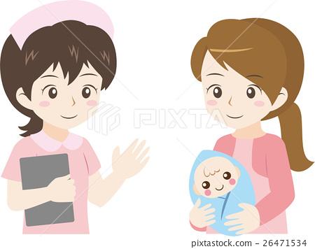 여성, 어머니, 벡터 26471534