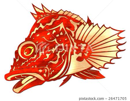 물고기 일러스트 26471705
