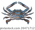 螃蟹的插圖 26471712