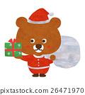 熊 聖誕老人 聖誕老公公 26471970